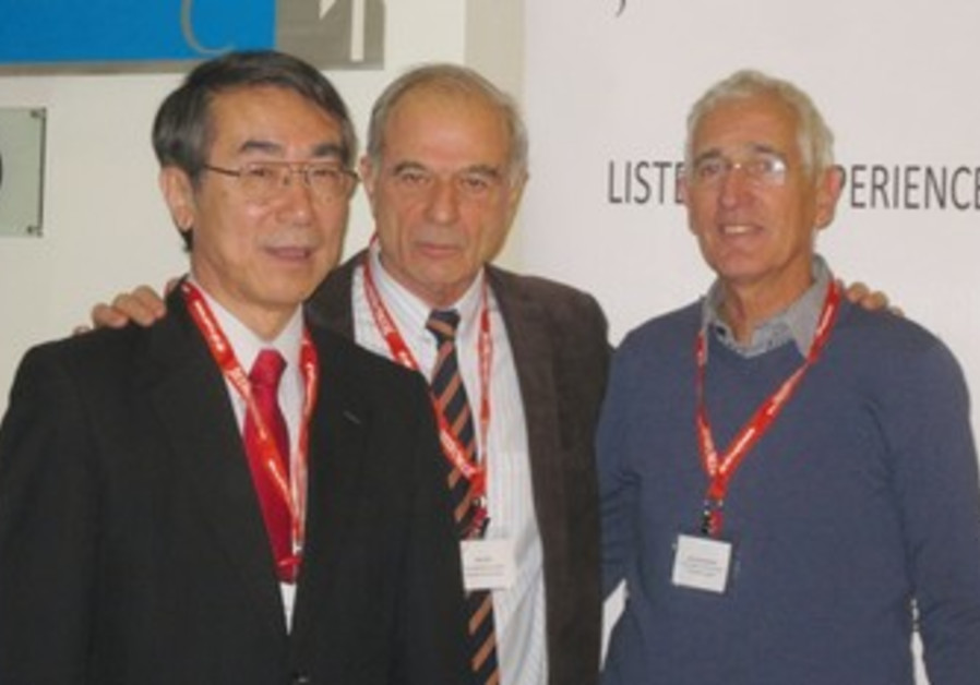 Hideo Sato, Uriel Lynn and Shai Hermesh