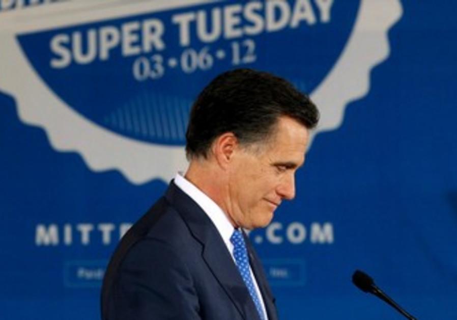 GOP candidate Mitt Romney.