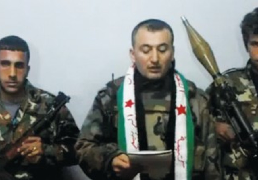 SALAH HABIB SALAH defects to join Free Syria Army