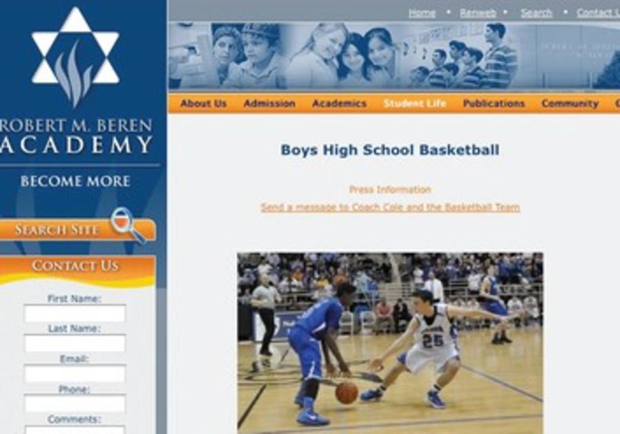 Robert Beren Academy's website