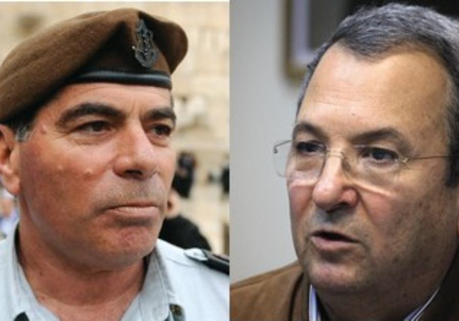 former IDF chief of staff Asheknazi, Barak