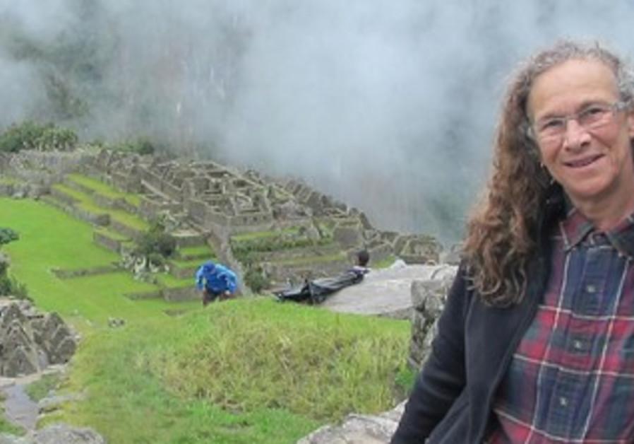 Linda Epstein at Machu Pichu