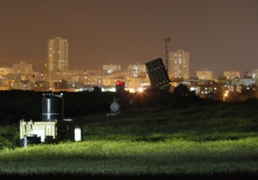 Iron Dome battery in Ashdod