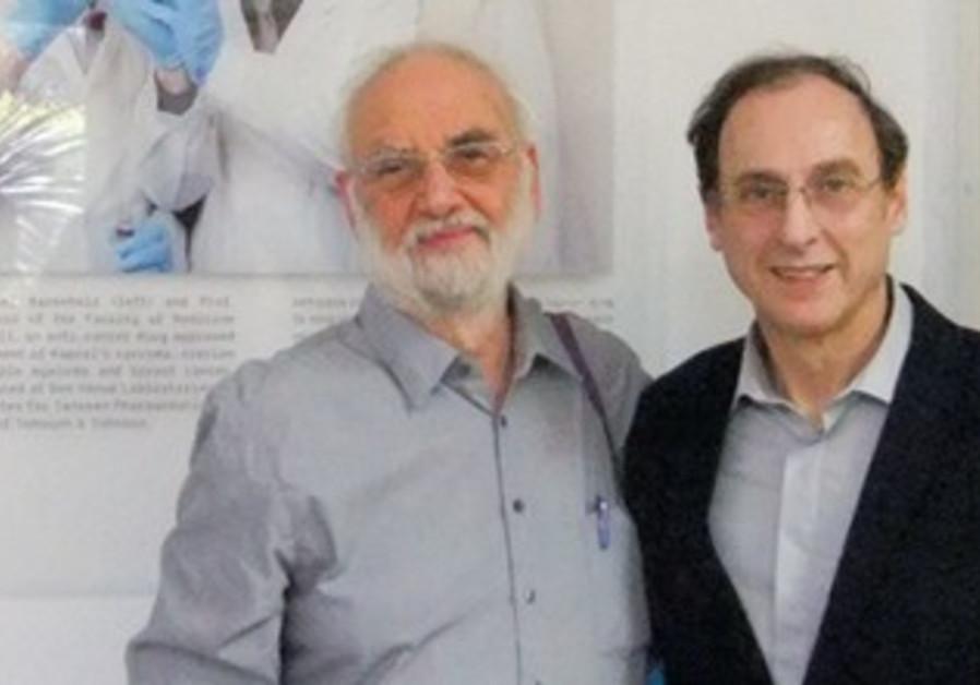 PROF. YECHEZKEL Barenholtz and Prof. Alberto Gabiz