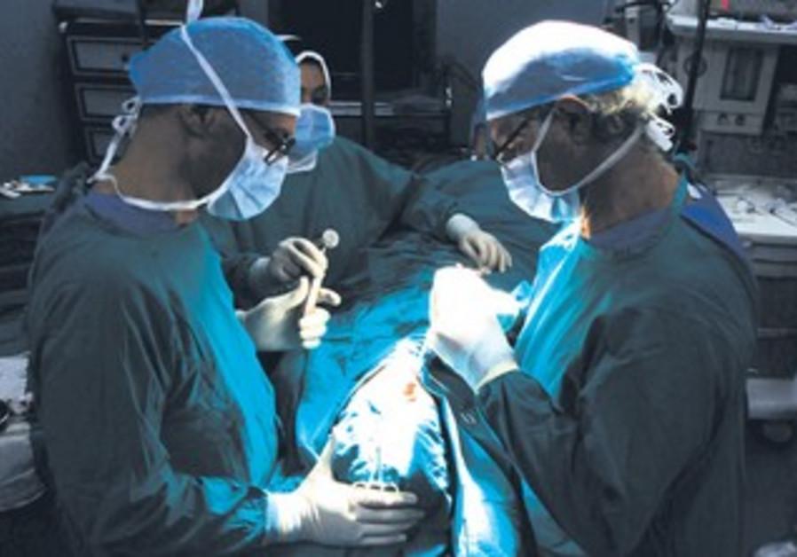 Dr. Alaa Gheita gives patient nose job, Cairo