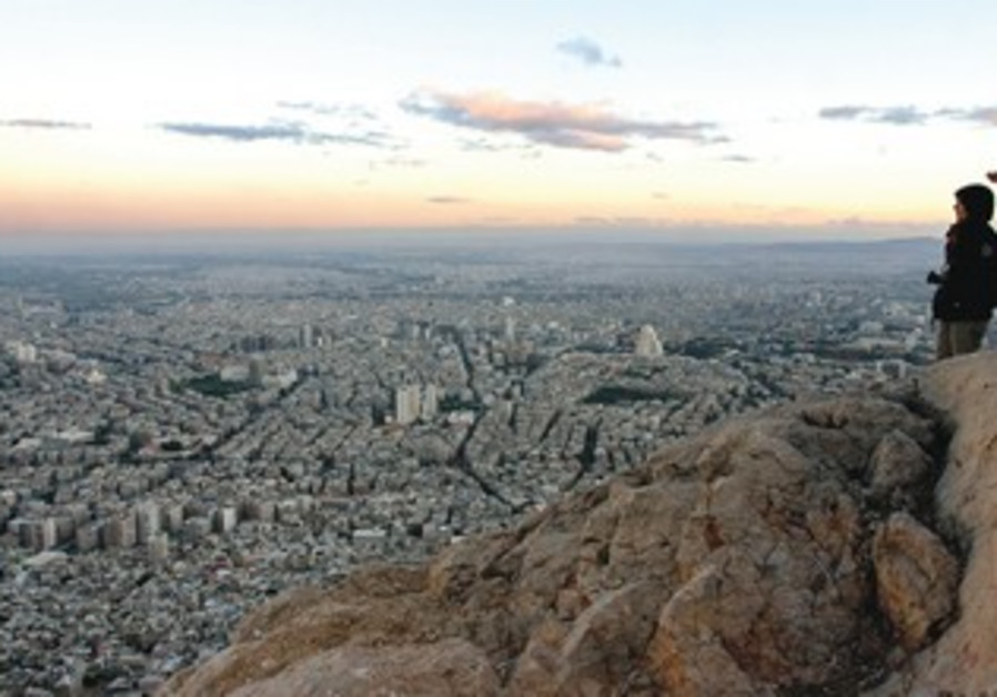 View of Damascus from Mt. Qassyoun