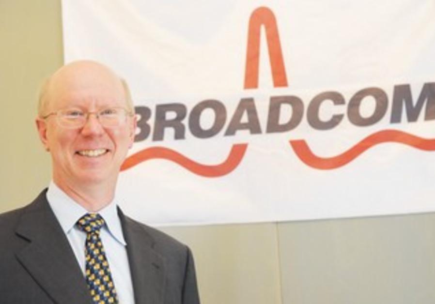 Broadcom CEO Scott McGregor