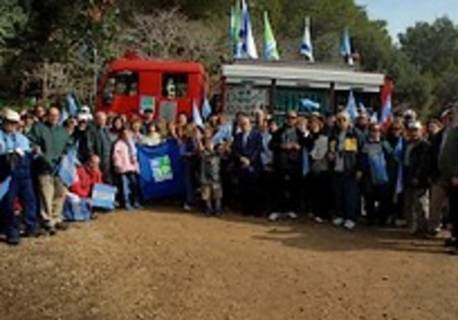 Latin American delegation visits KKL-JNF sites in Israel