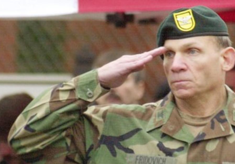 Lt.-Gen. (res.) David Fridovich
