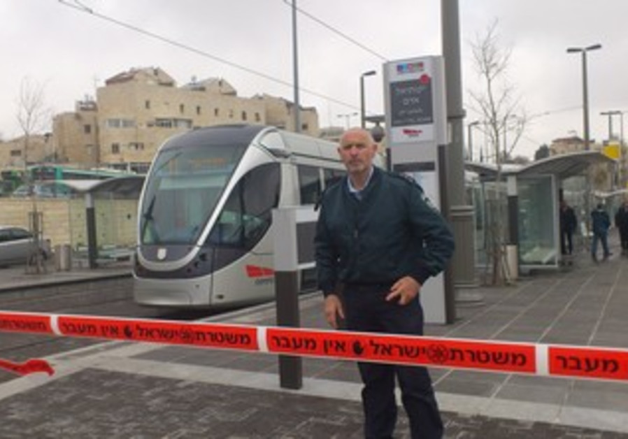 girl stabbed on Jerusalem light rail