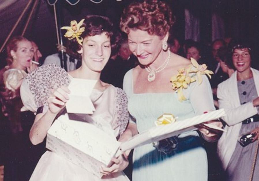 JUDITH GINSBERG (left) and Adele Wall Ginsberg