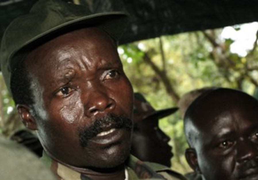 Leader of the Lord's Resistance Army Joseph Kony