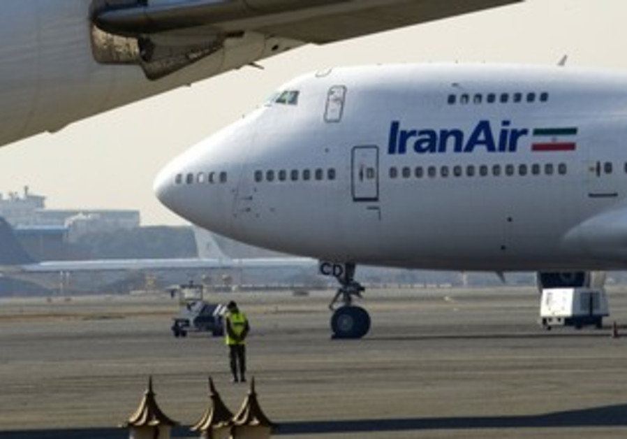 An Iran Air plane is seen in Tehran [file photo]