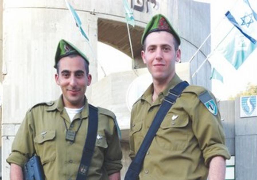 JONATHAN HASSON (left) and Ryan Shandler