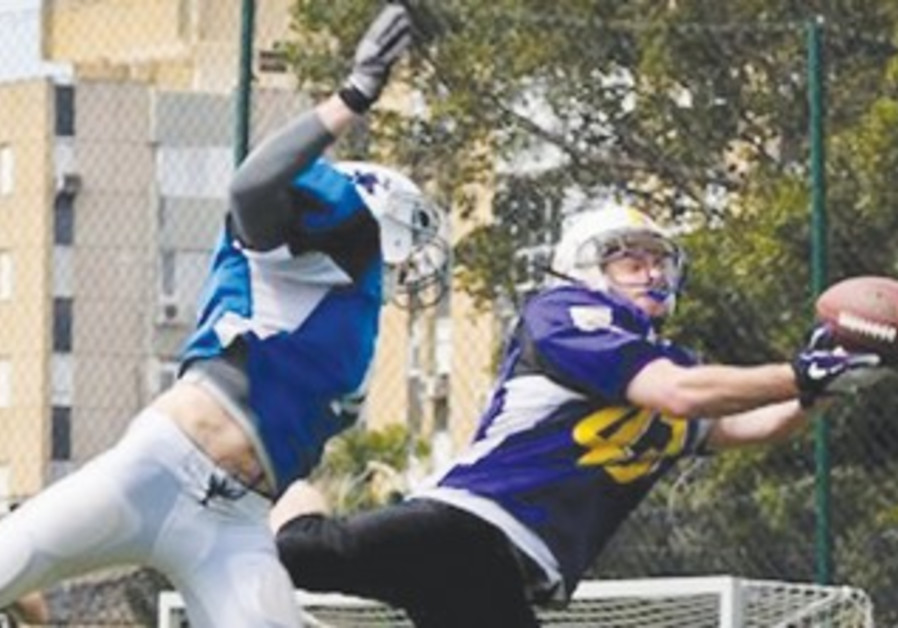 JERUSALEM KINGS receiver Ari Wajsport