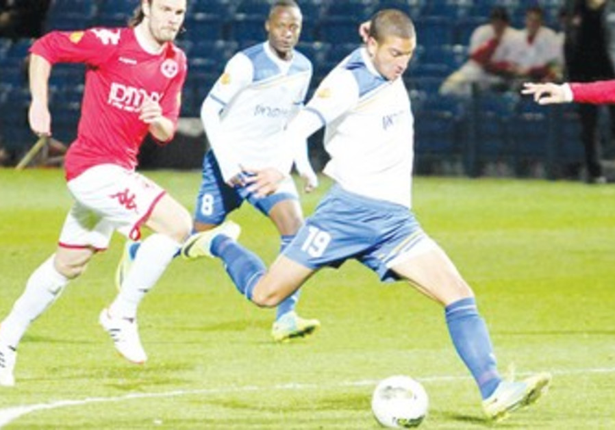 SHIMON ABU HAZEIRA scored Ironi Kiryat Shmona's