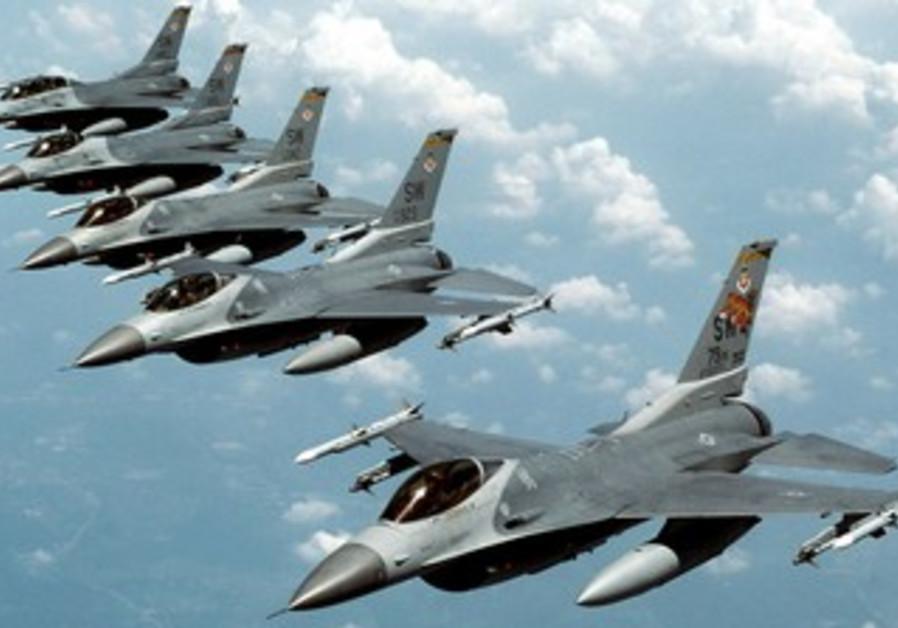 USAF F16s