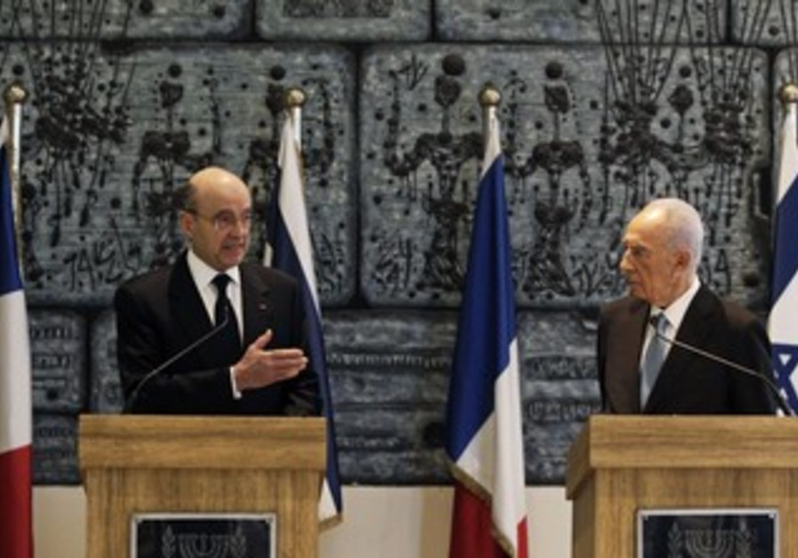 Peres and Juppe meet