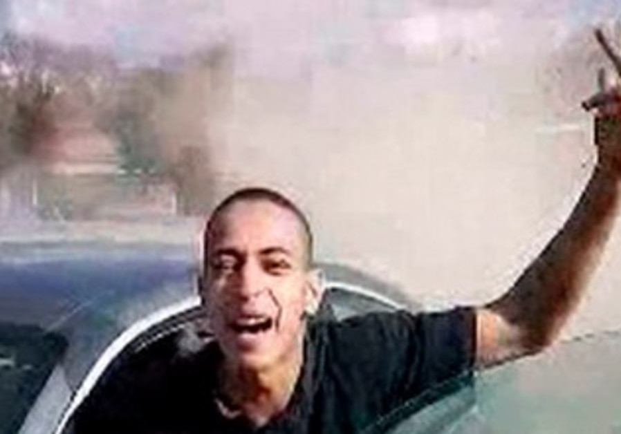 Alleged photo of Mohamed Merah from French TV.