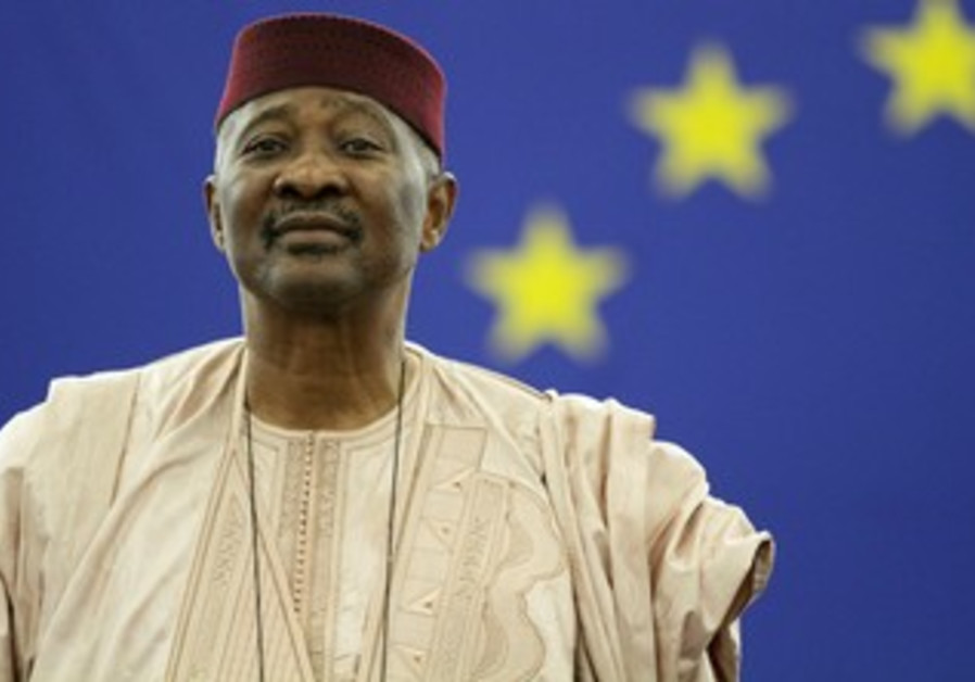 File photo of Mali President Amadou Toumani Toure