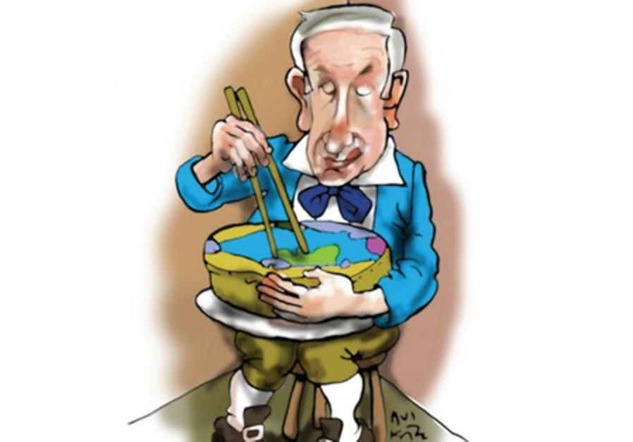 netanyahu cartoon 521