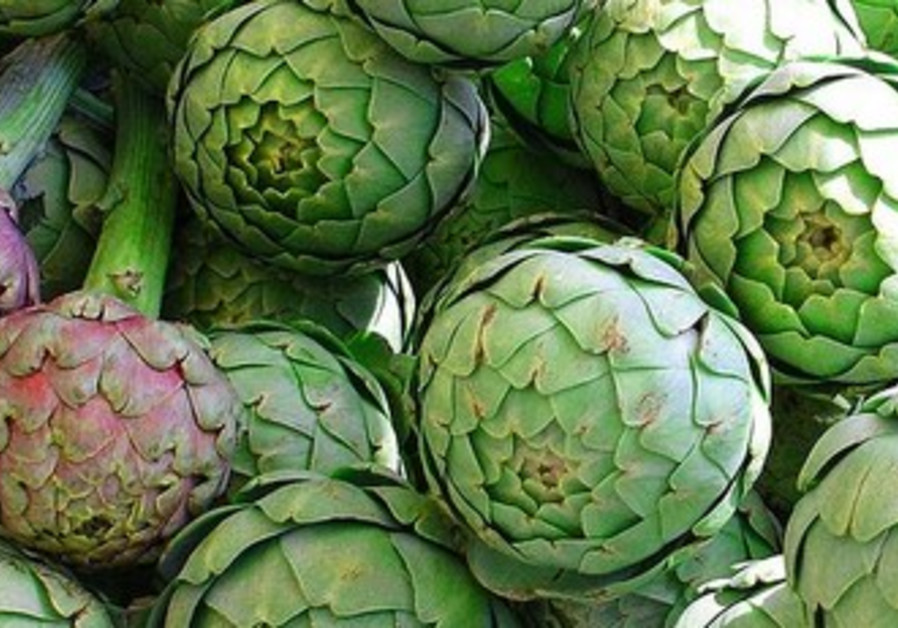 Artichokes are perfect for a sunny spring day