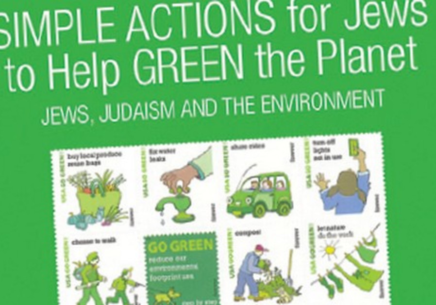 Simple Actions for Jews to help Green the Planet