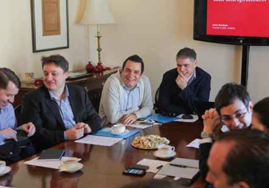 British delegation meets Israeli entrepreneurs at