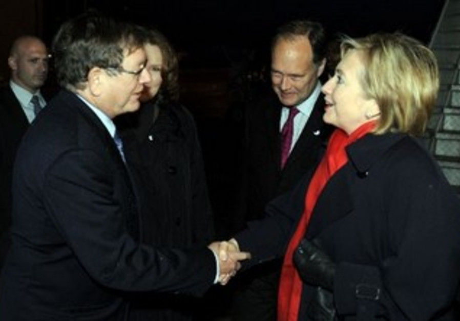 Barukh Binah meets US Sec of State Clinton in 2009