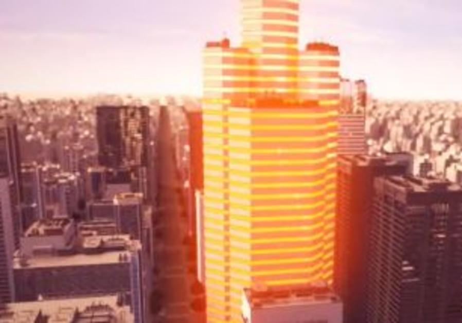 Solar-panel windows to power buildings