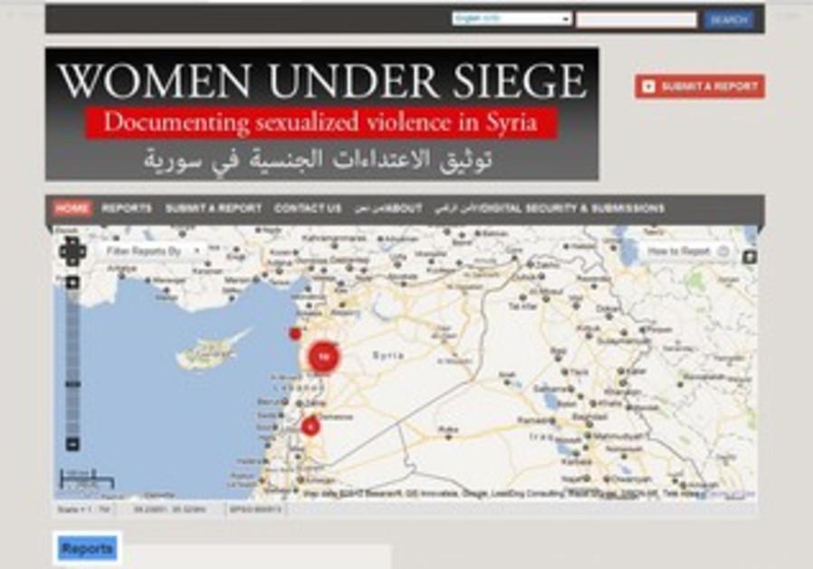 Women Under Seige website