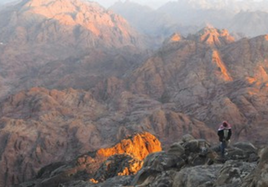Sinai mountains, Beduin