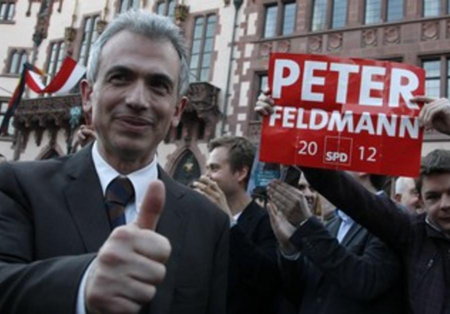 Frankfurt mayor Peter Feldmann