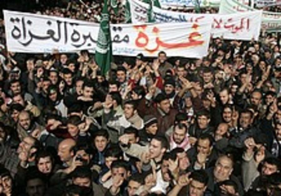 Jordan enacts laws restricting demonstrations, NGOs