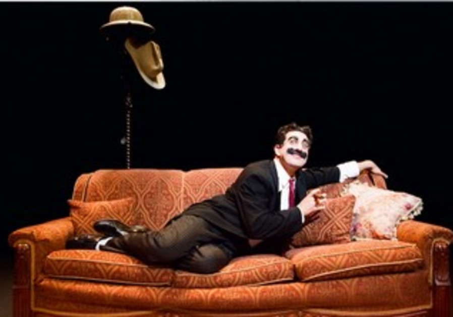Frank Ferrante as Groucho Marx