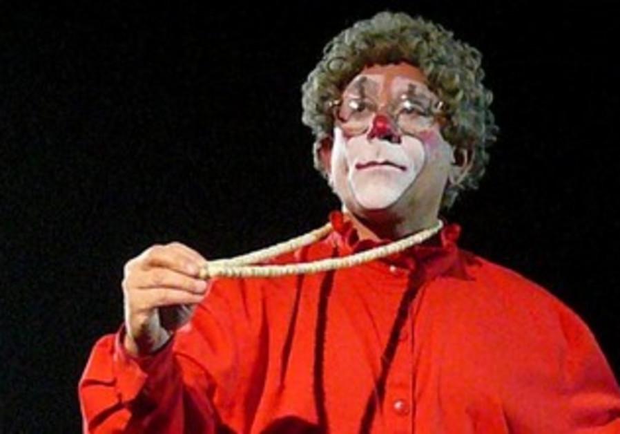 Big apple clown Barry Lubin.