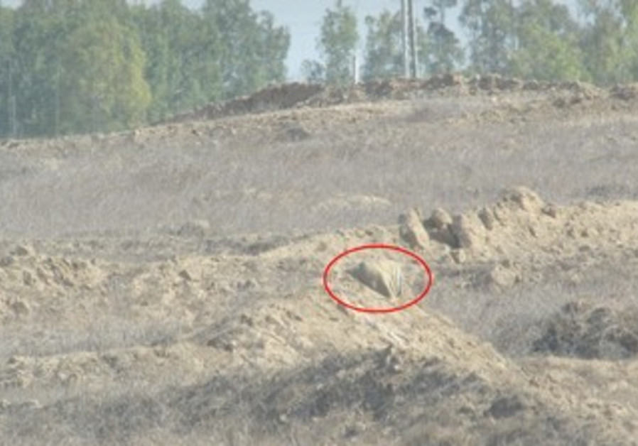 Explosive devices planted near Gaza security fence