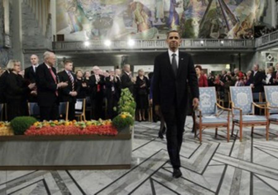 US President Obama wins Nobel Prize in Oslo