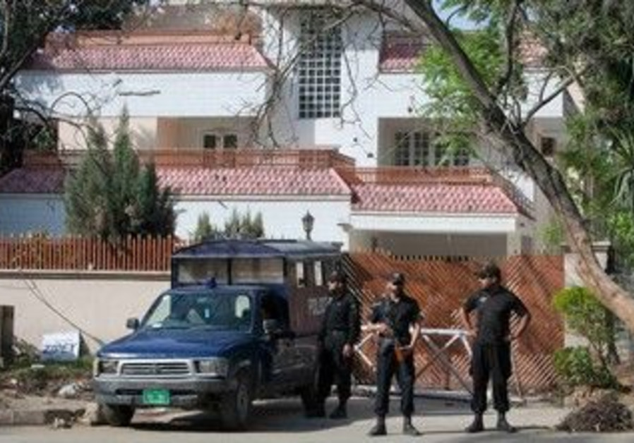House where bin Laden widows are detained