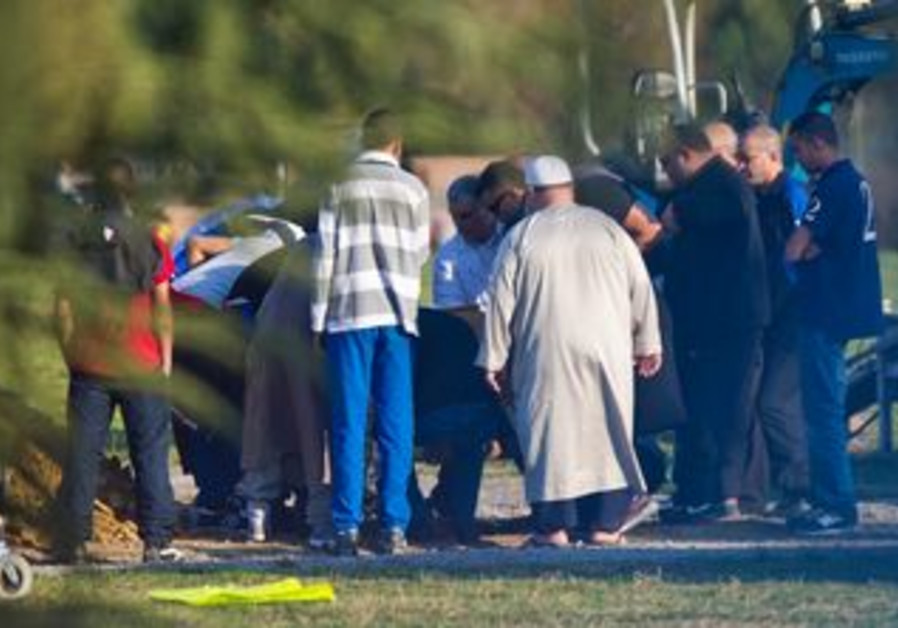 Mourners at funeral of Toulouse shooter Merah