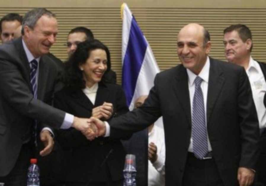 Shaul Mofaz, new Kadima leade
