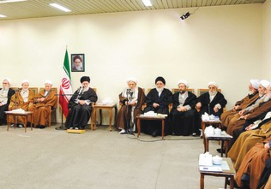 Khamenei and the Assembly of Experts in Tehran