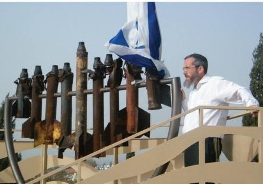 Menorah from gaza rockets521