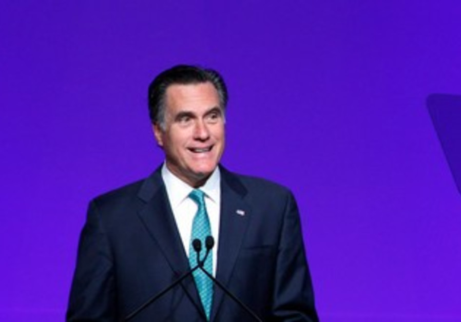 Mitt Romney at Newspaper Association of America