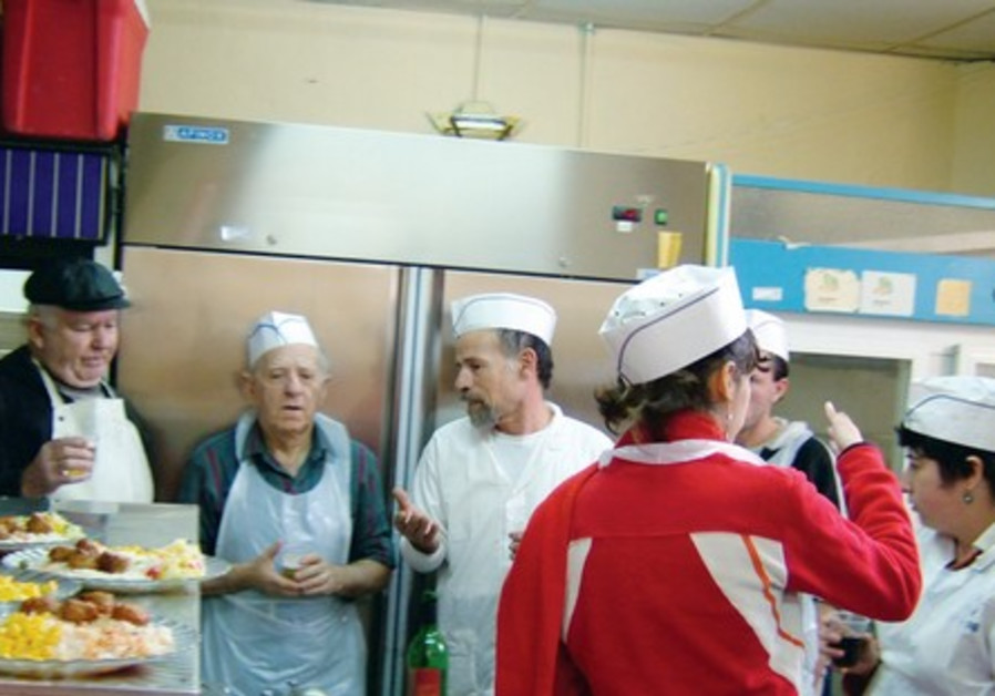 Hazon Yeshaya Soup Kitchen Jerusalem