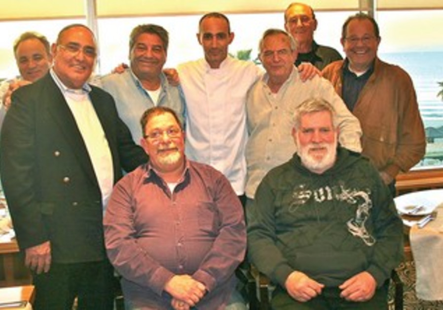 Veteran chefs meet at the Olive Leaf restaurant