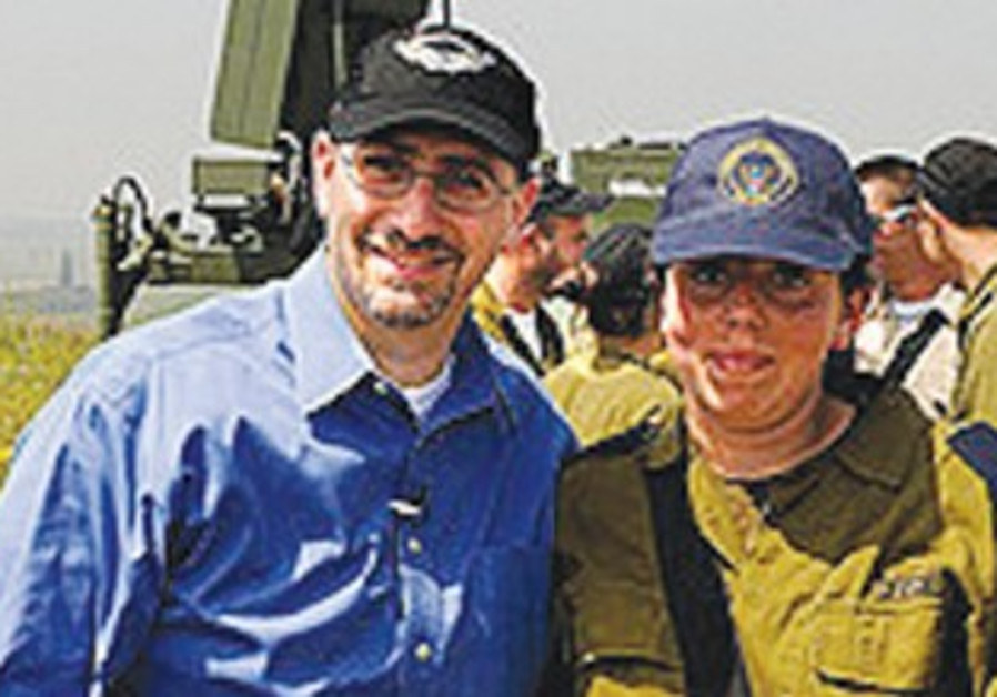 US ambassador Dan Shapiro visits Iron Dome