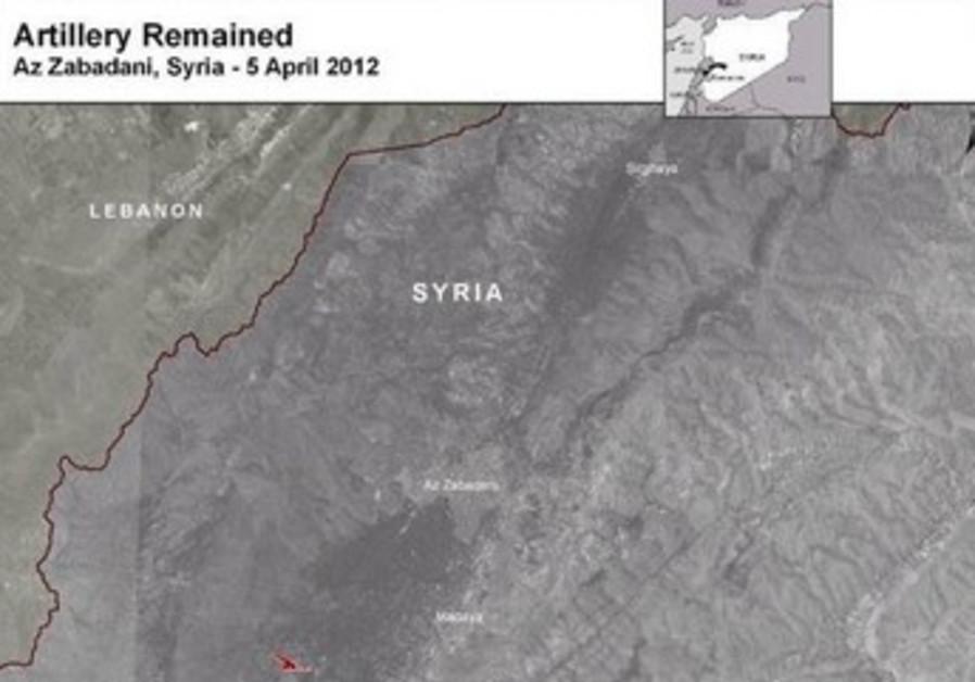 Syria satellite photo