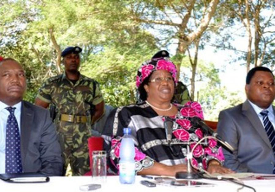 New Malawi President Joyce Banda