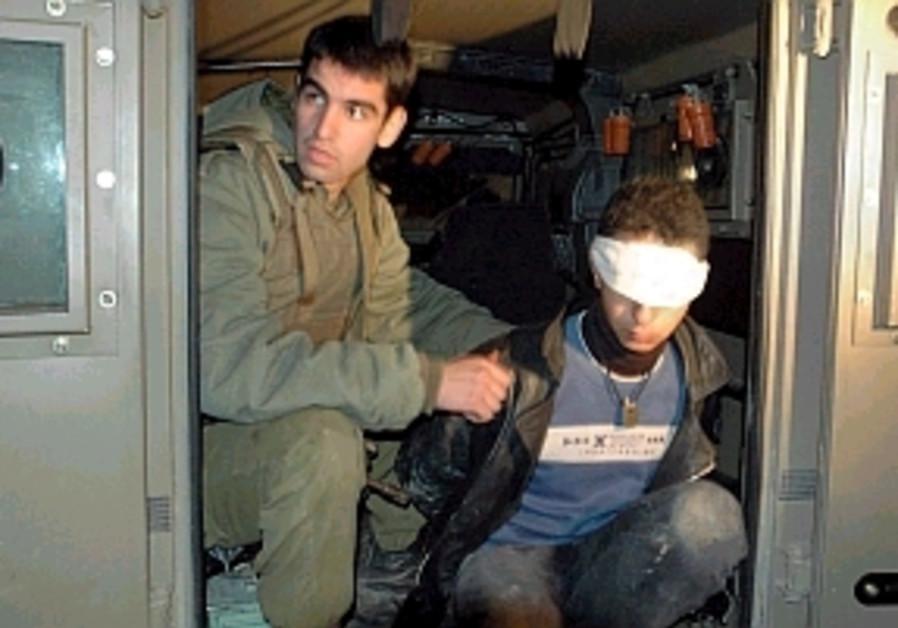 arresting a palestinian 298.88